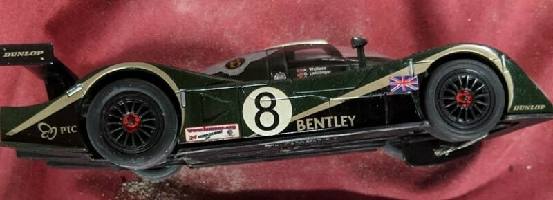 #8 Bentley Speed 8  1/32 SLOT Car Carrera Used