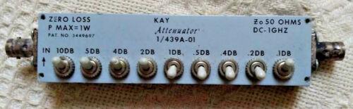 Kay Attenuator, Model #1/439A-01
