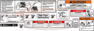 Bobcat Misc Outside Decal Sticker Kit For Skid Steers S175 S185 S205 T180 T190