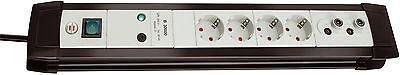 Steckdosen Blitzschutz Überspannungsschutz BF30000 TV Koax Schutz Brennenstuhl