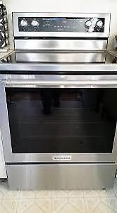 205- NEUF - NEW Cuisinière KITCHEN AID Stove Oven