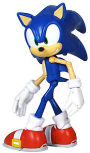 Sonic The Hedgehog - 6 Inch Super Poser Action Figure - Sonic / Shadow - New