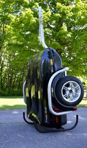 Lugg and Roll Motorcycle Trailer Cargo Pod