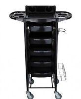 Salon Trolley Storage Cart Hair Dryer Holder-NEW