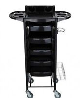 Salon Trolley Storage Cart Hair Dryer Holder-MEW