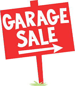 Garage Sale Saturday June 2 @ 8am