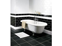 White Gloss Metro tiles 200 x 100mm