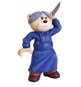 BAD TASTE BEAR BEARS MOVIES NORMAN FIGURE FIGURINE NEW IN GIFTBOX