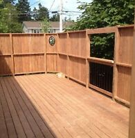 Free quotes on decks and fences