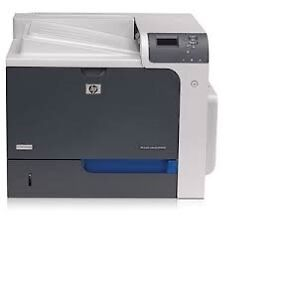 HP Color Laser Jet CP4525DN Printer w/ 4 extra colour toners