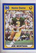 Joe Montana College Card