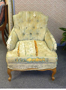 Re upholstery and furniture Repair Service.
