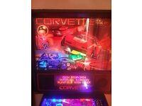 Pinball Machine Bally Corvette