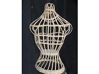 WICKER Display mannequin / Jewellery stand