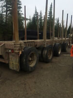 1997 & 1999 Timmins trailers