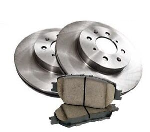 2007-2011 Toyota Camry brake pads and rotors