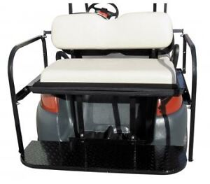 Rear Seat Kit for Club Car Precedent Golf Cart