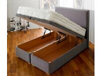 Brand new top quality single ottomen bed with individually pocket sprung mattress