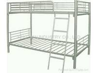 Top quality 3ft silver metal bunks at only £99