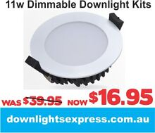 11W 12W 13W LED SAMSUNG CHIP DOWNLIGHTS CHEAP DOWNLIGHT KIT SAA Canberra Region Preview