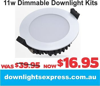 11W DOWNLIGHTS CHEAPEST DOWNLIGHT KITS ONLINE DOWN LIGHT SUPPLIES Canberra Region Preview