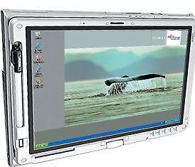 LAPTOP TABLET FUJITSU T4010 Windows 7, Office, WiFi, Swivel Screen Pen Touchscreen