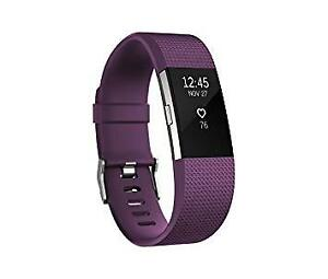 Fitbit Charge 2 Wireless Heart Rate + Activity Tracker -plum