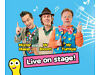 1 adult and 1 child ticket for the CBeebies Live show on Monday 14th April at 16.45-Block 1, row Q Penarth, Vale of Glamorgan