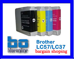 20 Ink cartridges LC 57 / LC 37 for brother printer