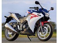 Honda CBR 250 R - ABS. May ex low mileage Vectra