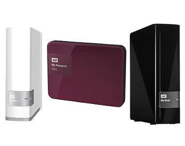 Network Attached Storage, Portable Hard Drive & Desktop Hard Drive
