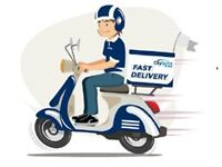 Fast Food Delivery work? Top rates £4 per drop(£12-16+ p/h equivalent) Flexible working - Wakefield