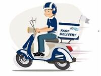 Fast Food Delivery Rider?Top rates £4 per drop(£12-£16+ per hour equivalent)Flexible work-Sheffield