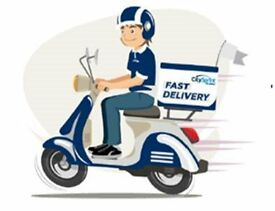 Fast Food Delivery Rider? Top rates £4 per drop (£12-16+ p/h equivalent) Flexible work - Bradford