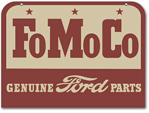 FOMOCO GENUINE FORD PARTS SIGN