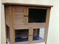 Rabbit/Guinea pig/ferret etc hutch and run