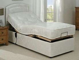 Electric single adjustable bed with remote control!