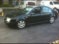 Volkswagen Jetta 1.8t  2003 for parts only