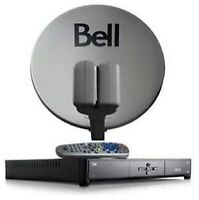 Bell hd receiver and dish