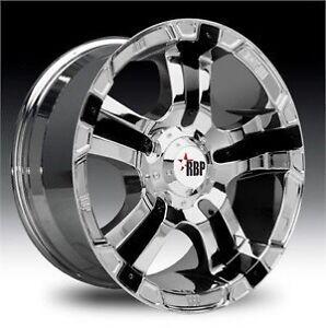 RBP 93R wheels for Ford F-350