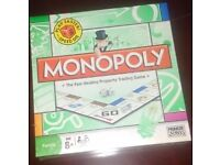 Monopoly board game (unused and sealed)