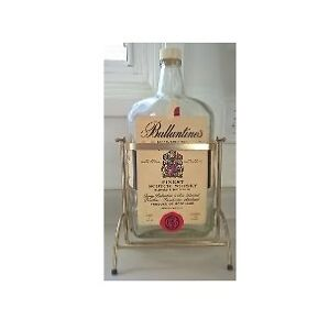 Ballantine's Scotch Whisky Bottle with Swing Holder Dispenser