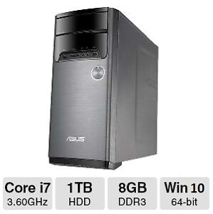 Asus M32AD, i7-4790 3.60GHz, 8 GB RAM, GT 730, Win 10.