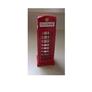 Diecast Red Telephone Booth & Post Office Pencil Sharpeners