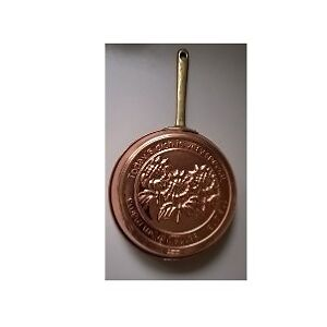 Solid Copper Pan Mold Wall Decorative Wall Hanger with Sunflower