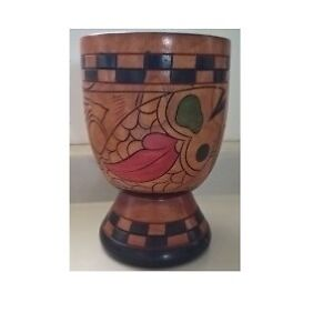 Wooden Hand Crafted Mortar