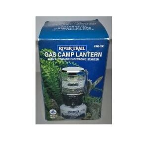 River Trail Gas Camp Lantern with Automatic Electronic Starter
