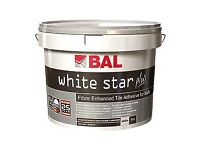 BAL White Star Tile Adhesive Plus 10l