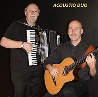 HIRE THE ACOUSTIQ DUO FOR YOUR NEW YEAR'S PARTY