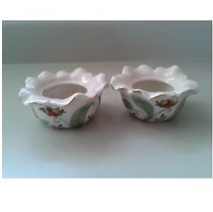 Royal Albert Old Country Roses 1962 Votive Holders